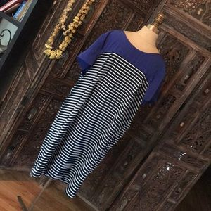 GAP Striped Dress XXL